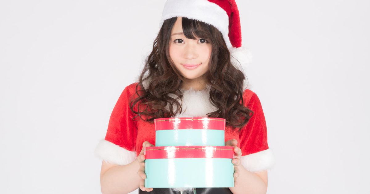 かわいいサンタさんからのクリスマスプレゼント