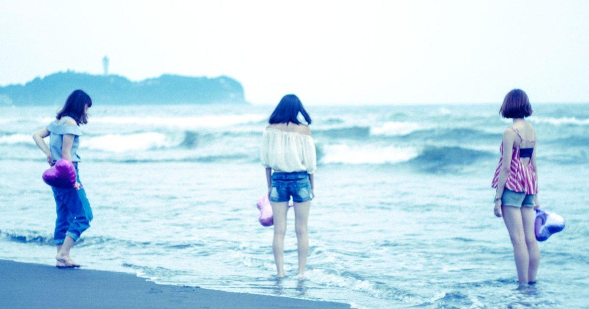 夏の終わりに女子3人で江の島に来ました